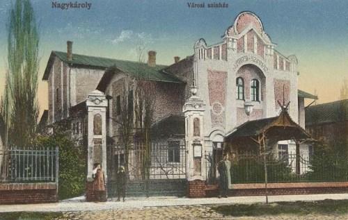 Nagykároly:Városi Szinház.1915