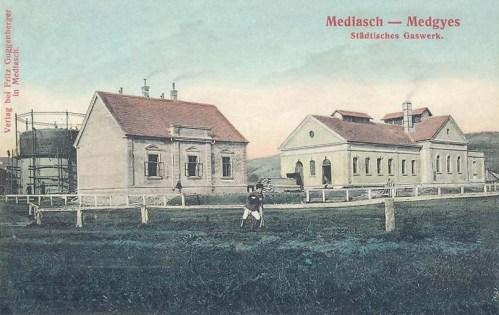 Megyes:városi gázgyár.1912