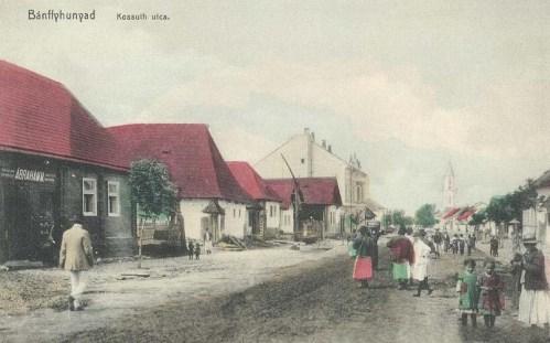 Bánffyhunyad:Kossuth utca.1911