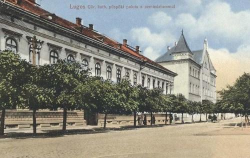 Lugos:görög katolikus püspöki palota és szeminárium.1913
