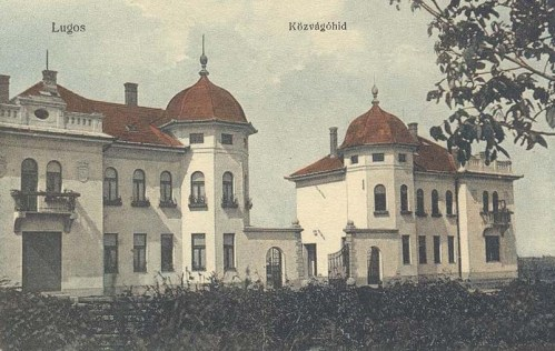 Lugos:Közvágóhid.1911
