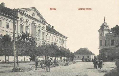 Lugos:Vármegyeháza.1908