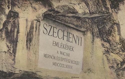 Alduna:Széchenyi emléktábla.1912