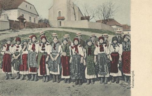 Kalotaszeg:népviselet.1912
