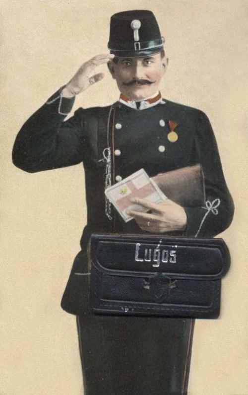 Lugos:postás.1911