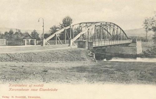 Karánsebes:új vashid.1903