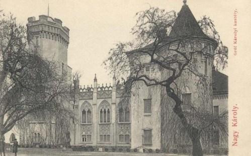Nagykároly:Károlyi kastély.1907