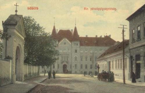 Lugos:Magyar Királyi Pénzügyigazgatóság.1910