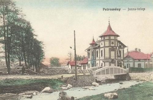 Petrozsény:Janza telep.1915