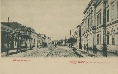Nagykároly:Kölcsey  Ferenc utca.1903