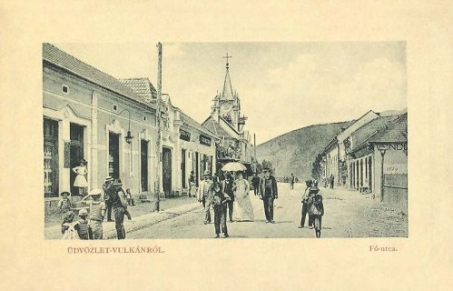 Vulkán:fő út.1912