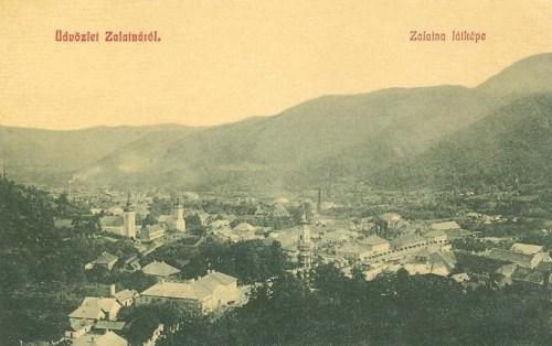 Zalatna:látkép.1909