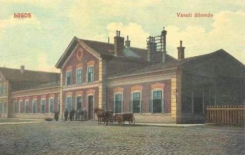 Lugos:vasútállomás.1911
