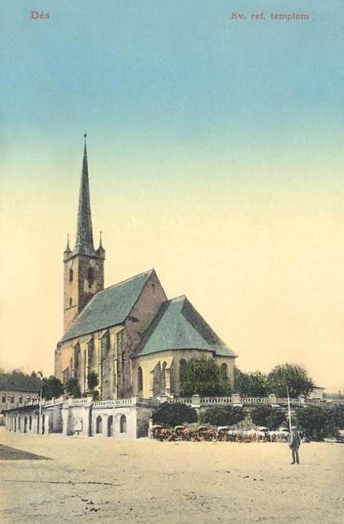 Dés:református templom.1913