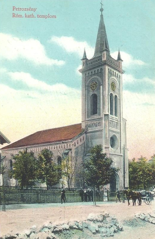 Petrozsény:katolikus templom.1912