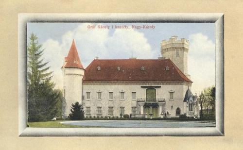 Nagykároly:Károlyi kastély.1911