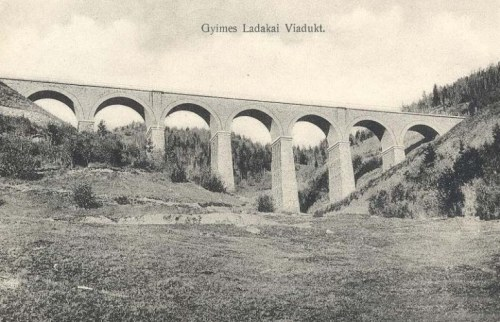 Gyimes:Ladakai vasúti hid.1911