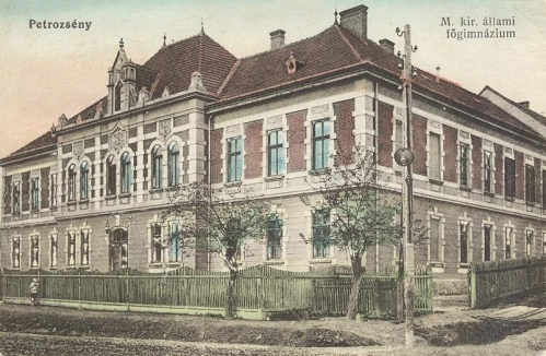 Petrozsény:magyar királyi főgimnázium.1912