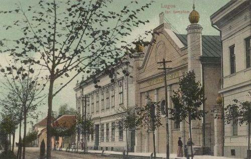Lugos:izraelita templom.1911