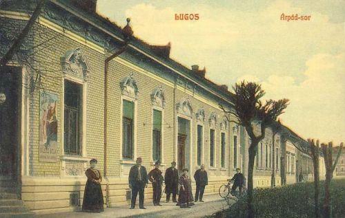 Lugos:Árpád sor.1908