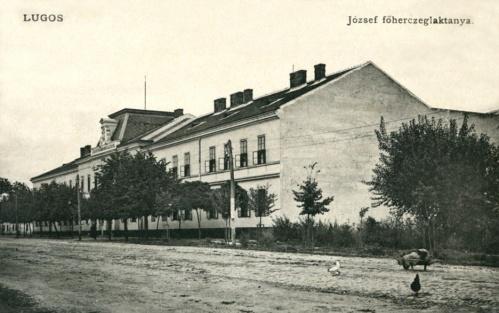 Lugos:József főherceg laktanya.1911