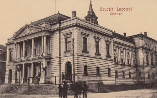 Lugos:Városi szinház.1914