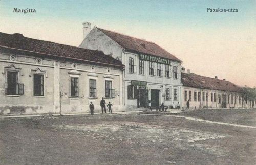 Margitta:Fazekas utca,Takarékpénztár.1912