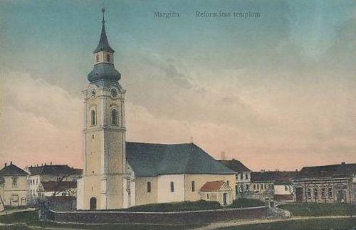 Margitta:református templom.1911