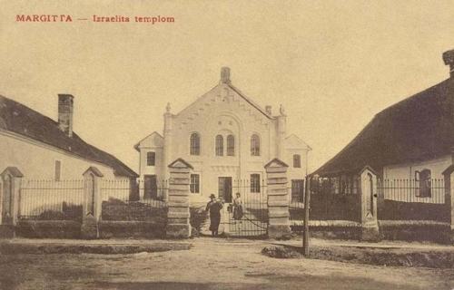 Margitta-Margarethen-Marghita:izraelita zsinagóga.1908