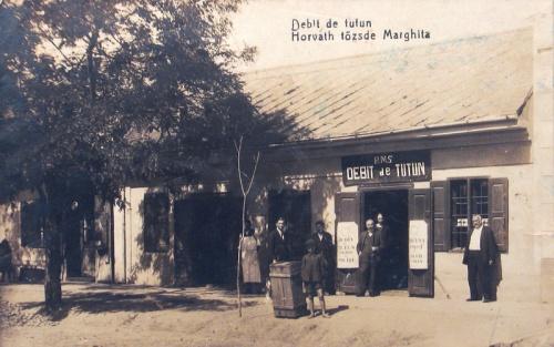 Margitta:Horváth dohány tőzsde.1928