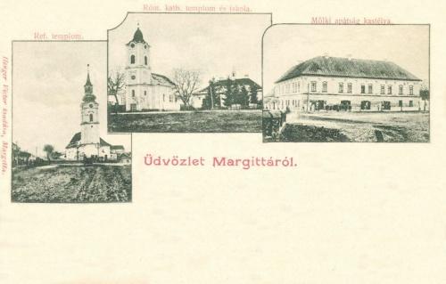 Melki(osztrák) apátság kastélya,református-és katolikus templomok,1902