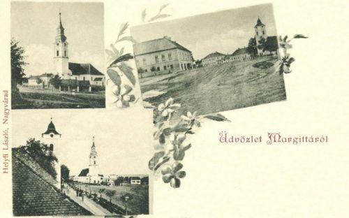 Margitta:református és katolikus templomok,1899.