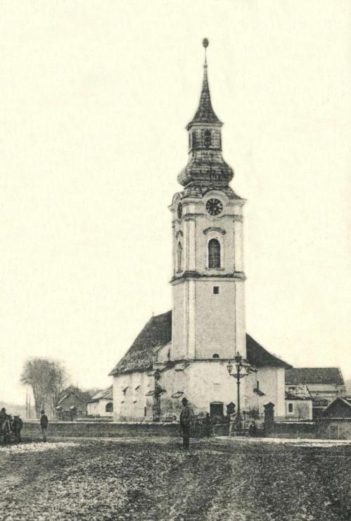 Margitta:református templom,1906.
