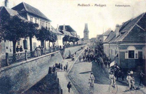 Medgyes:kerékpár verseny.1898