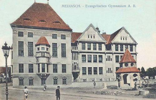 Medgyes:evangélikus gimnázium.1911