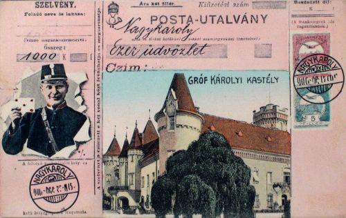 Nagykároly:gróf Károlyi kastély.1910