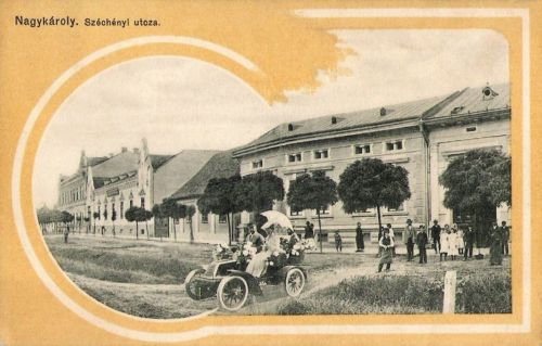 Nagykároly:Széchenyi utca.1911