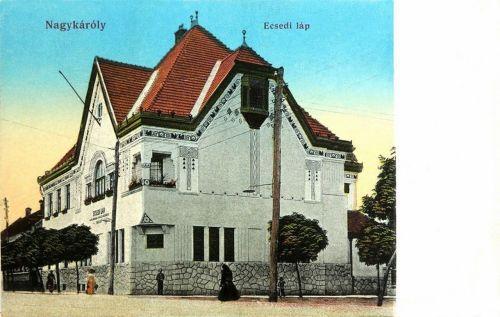 Nagykároly:láp.1914