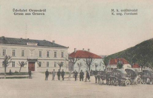 Orsova:Magyar Királyi Erdőhivatal.1911
