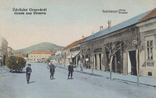 Orsova:Széchenyi utca.1911