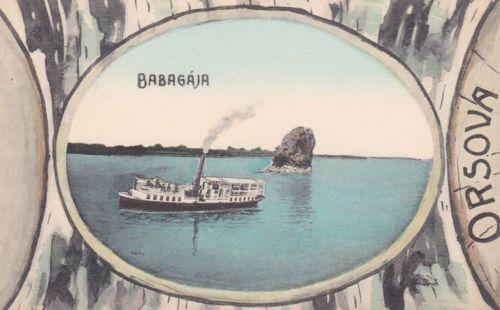 Orsova:Babagája szikla.1911