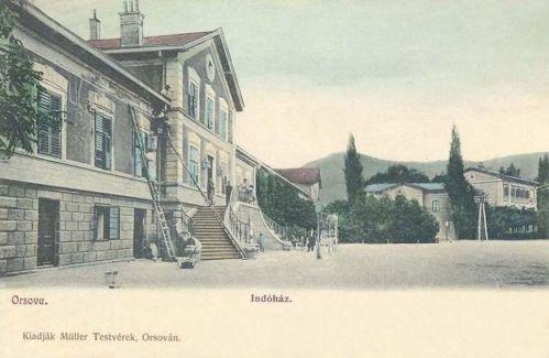Orsova:pályaudvar.1903