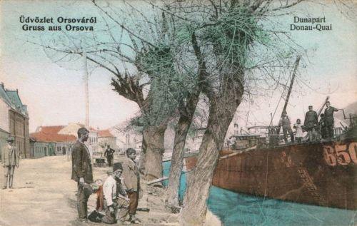 Orsova:Dunapart.1910