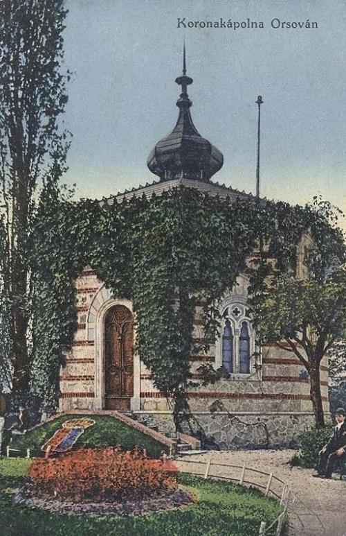 Orsova:magyar korona kápolna.1913