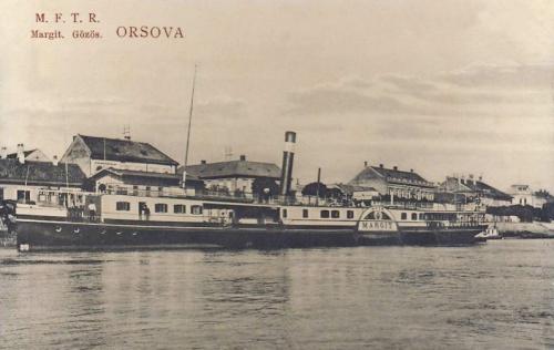 Orsova:Margit gőzős.1911