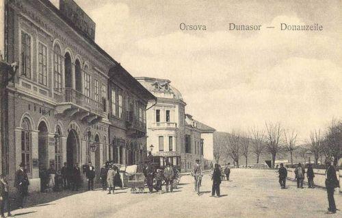 Orsova:Dunasor,König Hotel.1912
