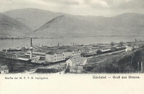 Orsova:Magyar Folyami hajógyár.1902
