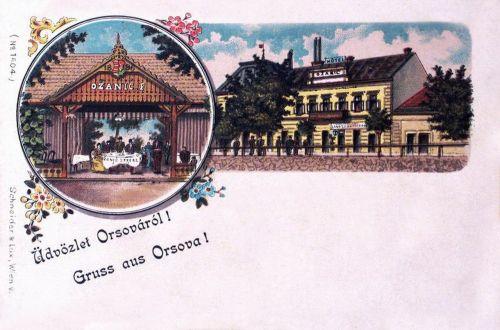 Orsova:Ozanic szálloda.1899