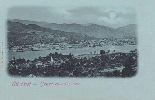 Orsova:holdas látkép.1899
