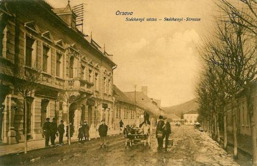 Orsova:gróf Széchenyi utca.1912